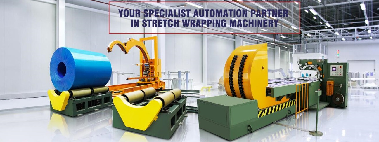 coil packaging line automation system