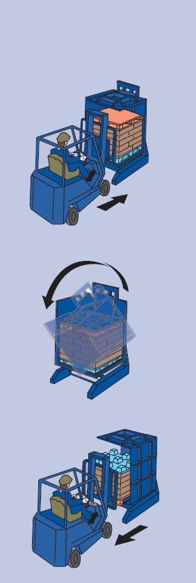pallet inverter operation