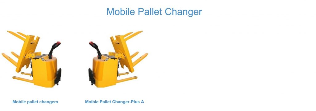 mobile pallet inverter